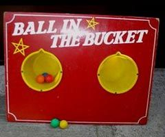 Ball in Bucket Hire
