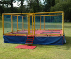 Trampoline Trailer Hire