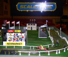 Horse Racing Scalextric Hire